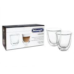 DeLonghi Cappuccino Glasses - Set of 2