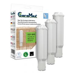 CCF-003 replacement water filter cartridge compatible with Melitta/Krups F088 (pack of 3)