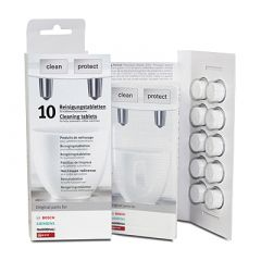 Cleaning Tablets for Bosch - Pack of 10