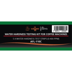 Water Hardness Test Kit For Coffee Machines (5 Strips)